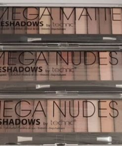 Technic Mega Mattes & Mega Nudes 2 3 EyeShadow Palettes UK SELLER*