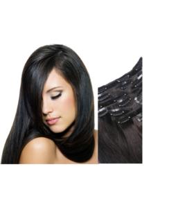 Russian Virgin Human Hair - Clip-ins