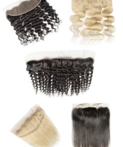 Brazilian Virgin Human Hair - Frontals